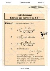 techniques et methodes calcul integral