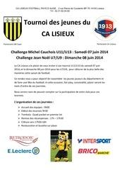 tournoi des jeunes 20132014 1