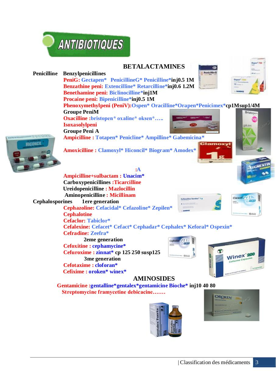 Classification des medicaments 2014 by AFFANE Akram Oubid ..pdf - page 4/45