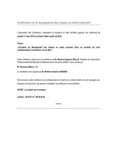 Fichier PDF conference risk management banque 1 mars 2014