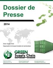dossier de presse green supply chain 2014