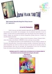 journal ram tam tam janvier 2014