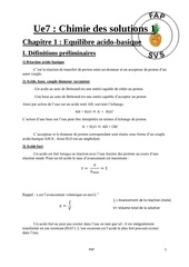 chimie 1