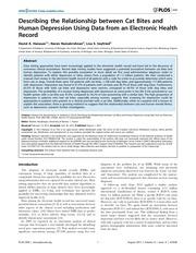 correlation morsure de chat et depression