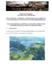 reglement compagnies lacs 2014