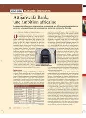 agefi hebdo n 323 attijariwafa bank avril 2012