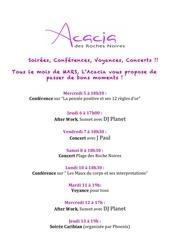 evenement acacia