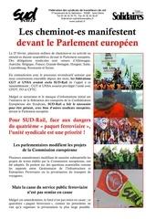 2014 3 3 rassemblement euro des cheminots