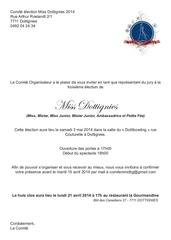 invitation jury 1
