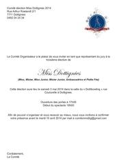 invitation jury