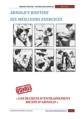 arnolds ses meilleurs exercices