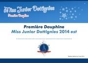 diplome miss junior 1ere dauphine