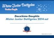 diplome mister junior 2eme dauphin