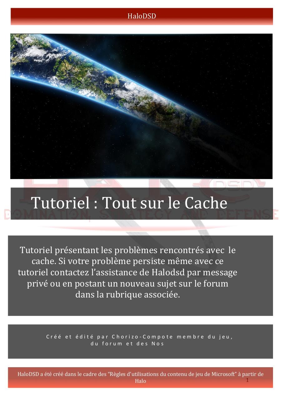 Aperçu du document Tutoriel Cache.pdf - page 1/15