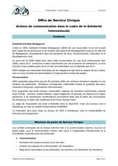 2014 offre service civique france