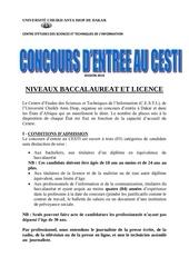 appel a candidatures concours cesti 2014 1