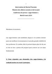 Fichier PDF discours mt sages femmes