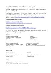 hoy 6 de marzo del 2014 se celebra el d a europeo de la logopedia