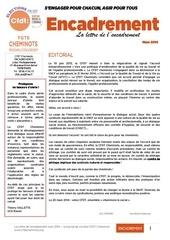 lettre de l encadrement uce mars 2014