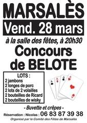 Concours de belote 38