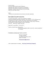 fiche poste charge de prod2014 2