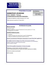 Fichier PDF profil poste animateur jeunesse cui