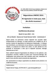 invitation conf de presse unedic