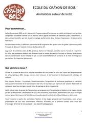 dossier presentation ecb