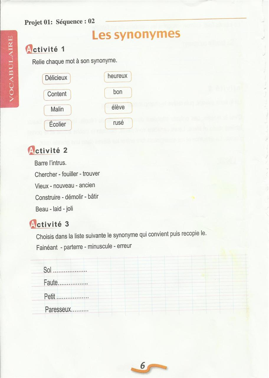 01 Cahier D Activites 5 Ap Fichier Pdf