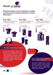 participation lancement archange sport web