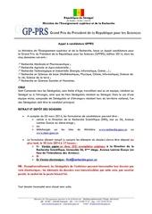 publication appel gpprs 14