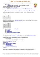 Fichier PDF fiche 17a faire une courbe avec excel fw 1