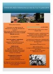 Fichier PDF stage villefranche sur mer 2014