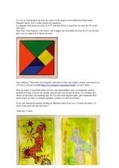 atelier patouille et tangrams