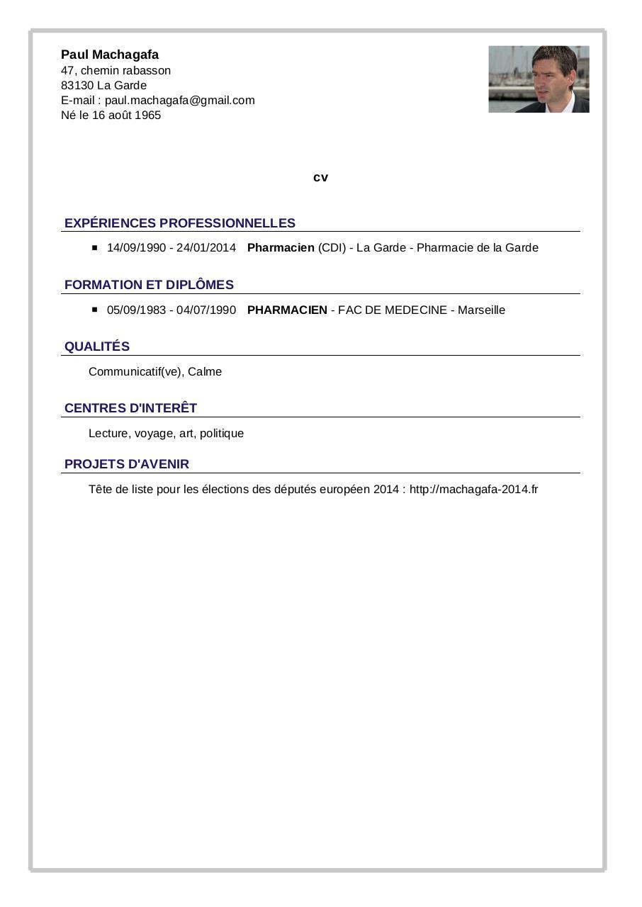 cv-machagafa pdf par tcpdf