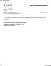 gmail espece de merde