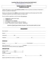 engagement et reglement 2014