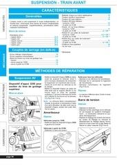 manuel reparation t4 suspension train avant