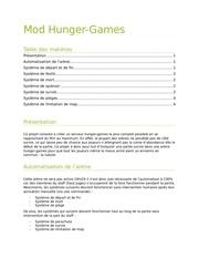Fichier PDF projet hunger