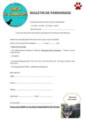 Fichier PDF bulletin de parrainage