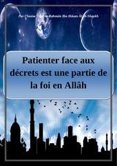 patienter face aux decrets divins est une partie de la foi