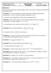 sujet de revision deuxieme trimestre bac math