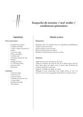 Fichier PDF gaspacho