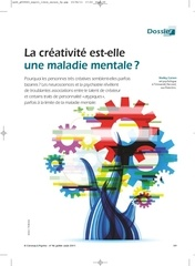 la creativite est elle une maladie mentale