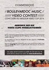 Fichier PDF communique boulevardoc music video contest preselection