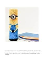 mimion porte crayon