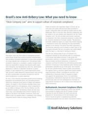brazilanti briberylaw whatyouneedtoknow