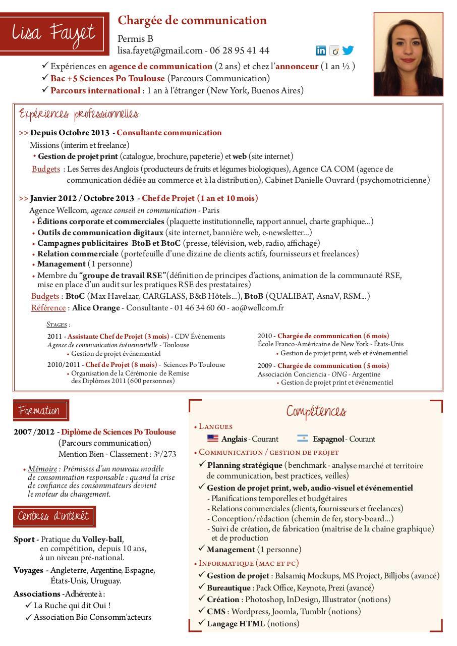 cv fayetlisa  cv fayetlisa pdf