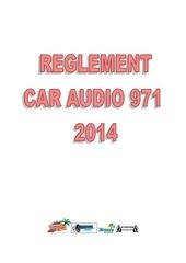 reglement car audio 971