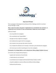 stage account manager videology